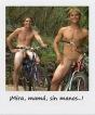 Homografía: ¡MIRA, MAMÁ, SIN MANOS....!